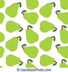 Pear pattern seamless background design