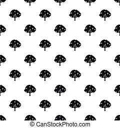 Pear tree pattern, simple style - Pear tree pattern. Simple...