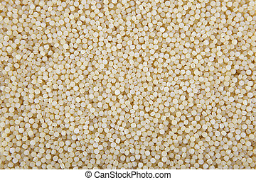 Pearl Couscous Raw Perl Couscous On Black Bsckground Close Up Canstock