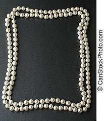Pearl isolated on grey