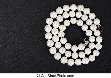 Pearl Necklace Studio Photo