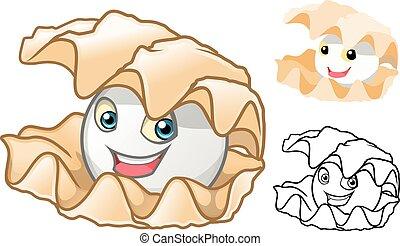 Pearl Shell Cartoon - High Quality Pearl Shell Cartoon...