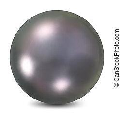 pearl., vektor, ilustrace