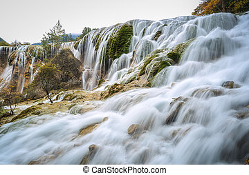 pearls beach waterfall