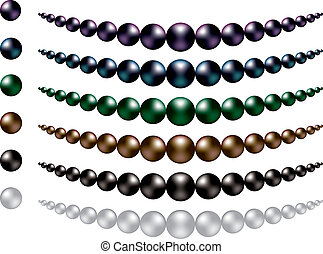 Pearls - Black South Sea Pearls
