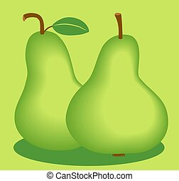 Pears - Two tasty pears