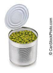 peas, dåse