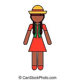 peasant woman avatar character