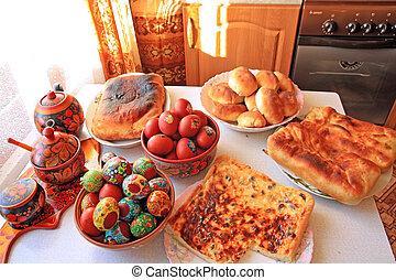 peaster, tabla, en, rural, casa