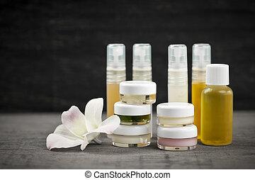 peau, produits, soin