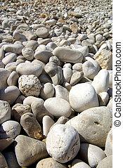 Pebble-beach close-up