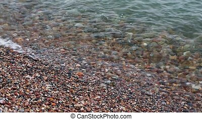 Pebble Beach Loop - Rounded pebbles and small rocks roll in...