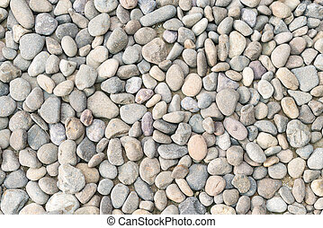 Pebble heap as abstract natural background.