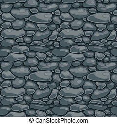 Pebble - Seamless texture with the image of the masonry....