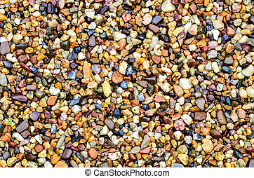 Pebble stone - Color pebble stone