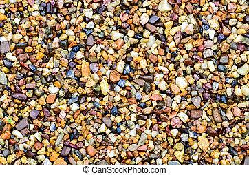 Pebble stone - Color pebble stone
