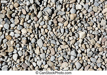 Pebbles and stones background