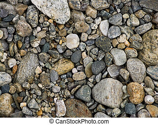 Pebbles - Full frame of pebbles
