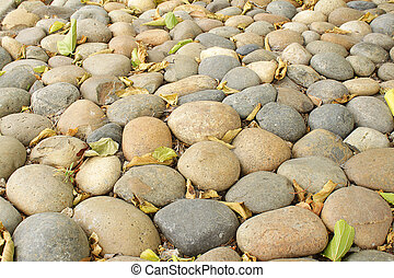 Pebbles - Photo of pebbles, good as a background