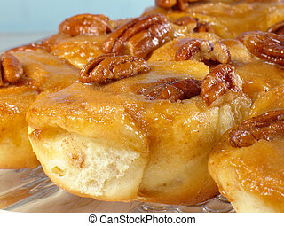 Pecan Sticky Buns - Who can resist these sweet, warm, pecan...