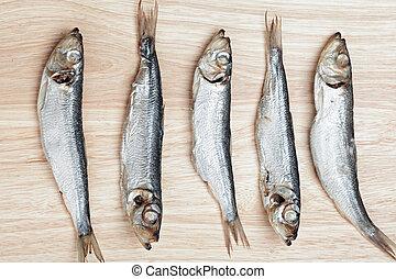 peces, cinco