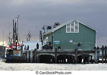 peche, -, watersport