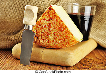 Pecorino, typical italian cheese - Pecorino, typical italian...