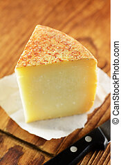 Pecorino, typical italian cheese - Pecorino, typical italian...