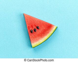 pedaço, melancia