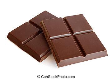 pedaços chocolate