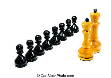 pedaços xadrez
