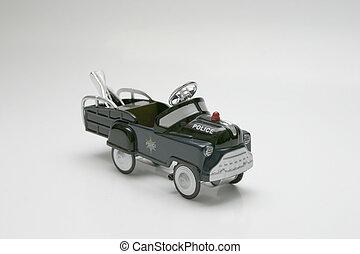 pedaal, -, trekken, auto