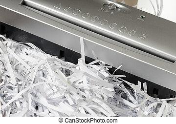 pedacitos, de, papel