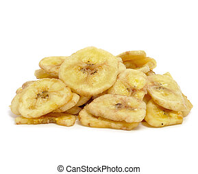 pedacitos, plátano