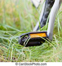 pedal, bicicleta