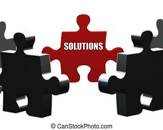 pedazo, soluciones