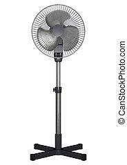 Pedestal Fan - 3D digital render of a pedestal fan isolated...