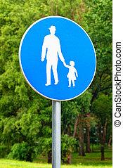 pedestrian 通路, 印