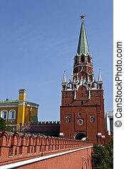 Pedestrian Entrance to the Kremlin, Moscow