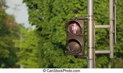 Pedestrian Lights Red