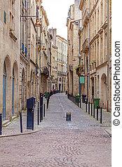 Pedestrian Street in Old City, Bordeaux