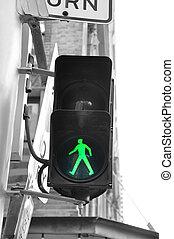 Pedestrian traffic light