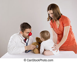 Pediatrician doctor