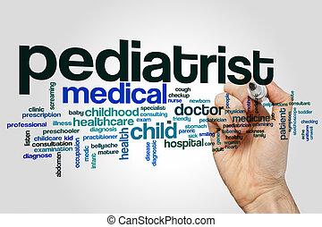 Pediatrist word cloud