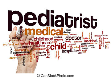 Pediatrist word cloud