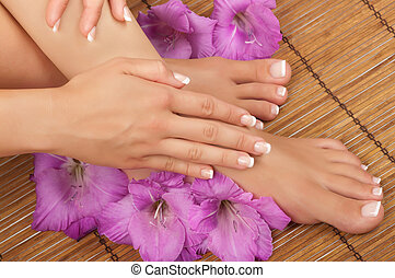 Pedicure and Manicure Spa - Pedicure and manicure spa with...