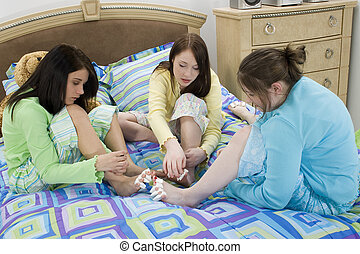 Pedicures Teen Girls