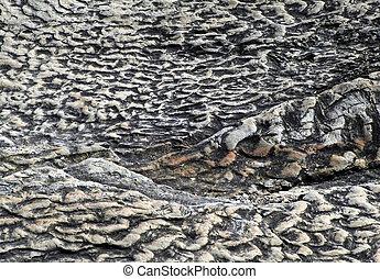 pedra calcária, ondulações