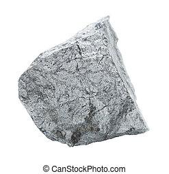 pedra, cobaltite, branca, isolado