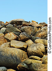 pedra, fundo, textura